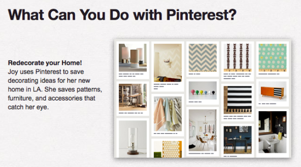 What people use Pinterest for